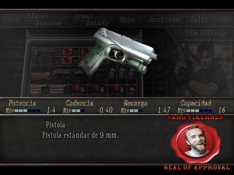 Resident Evil 4 Trial Handgun Presen12