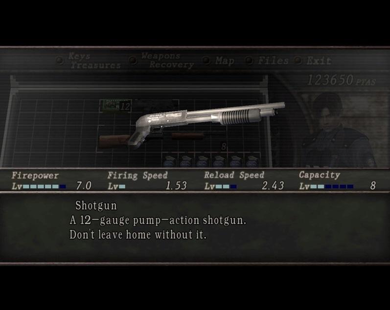 Resident evil 2 Mini Weapon Pack Sin_ty13