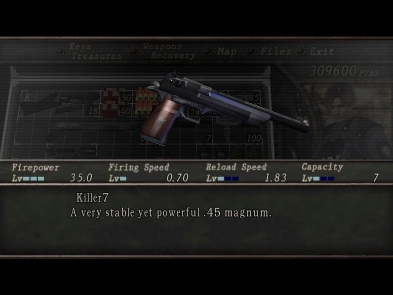 Resident evil 2 Mini Weapon Pack Sin_ty14