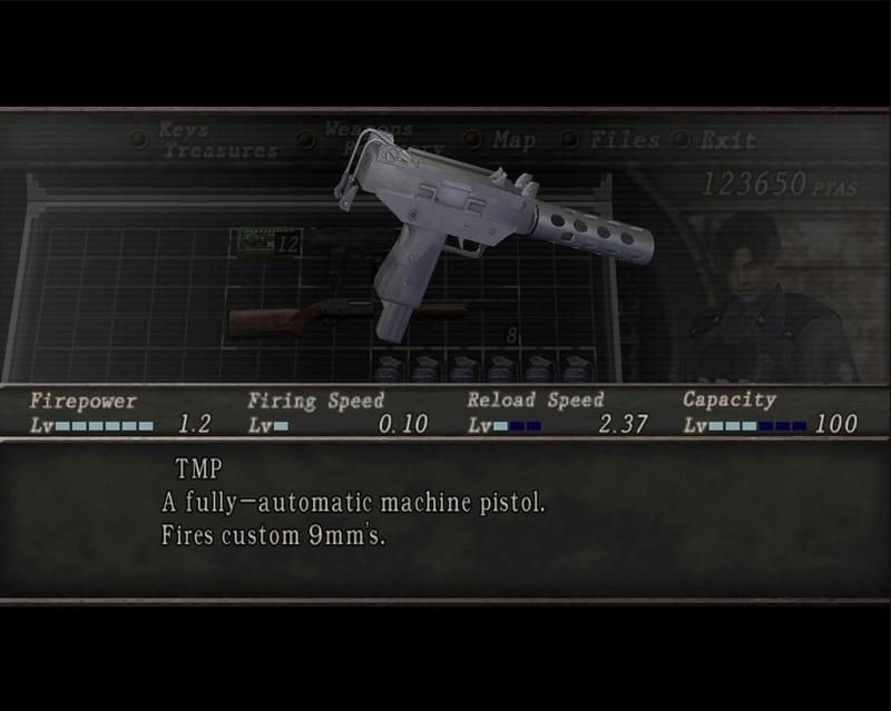 Resident evil 2 Mini Weapon Pack Sin_ty16