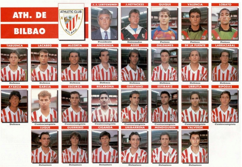 PLANTILLA 92-93 ATHLETIC DE BILBAO Sin_ty13