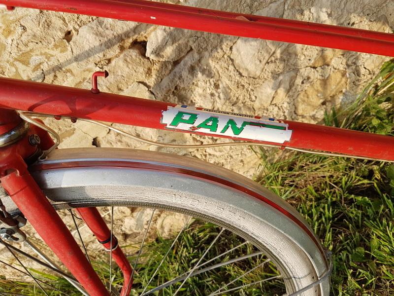 Vélo femme marque PAN quel année ? 20170836