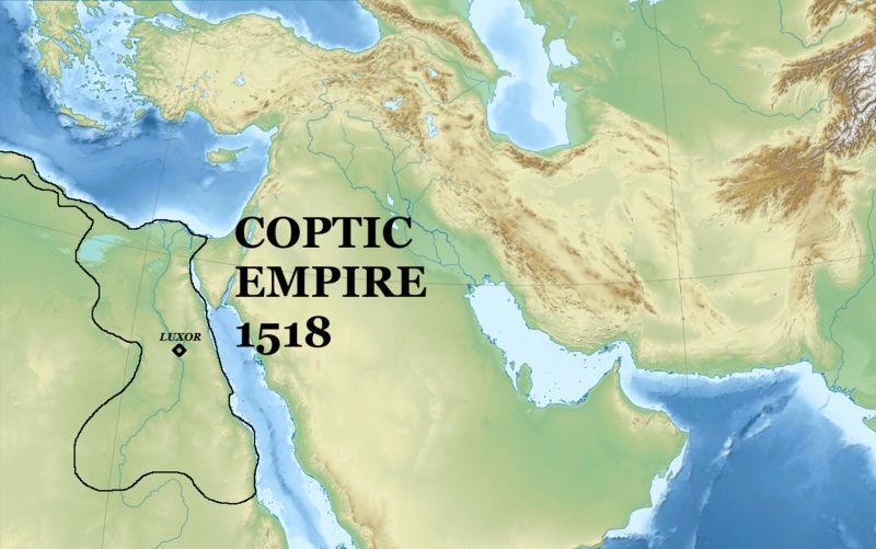 COPTIC EMPIRE [OC] (Part One) Coptic11
