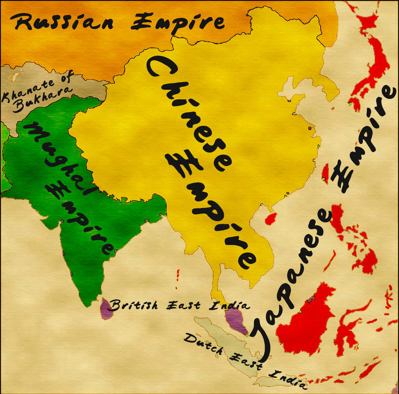 The Mandate of Heaven and the Empire of the Rising sun Asia_s12