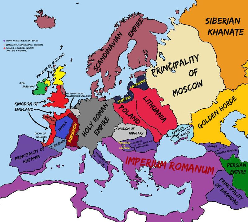 Alternate History Map Thread Europe10