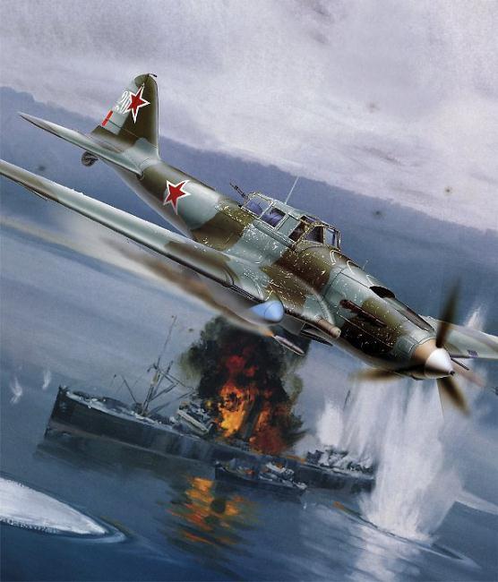World War II Art Il-210