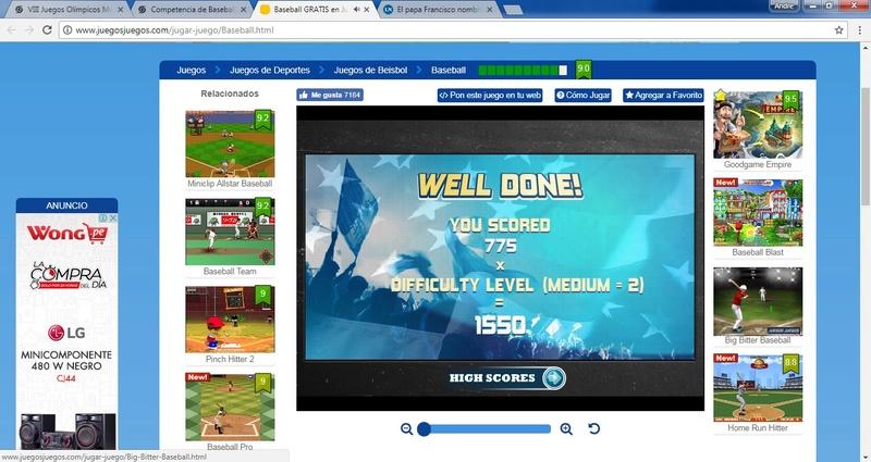 Competencia de Baseball Be210