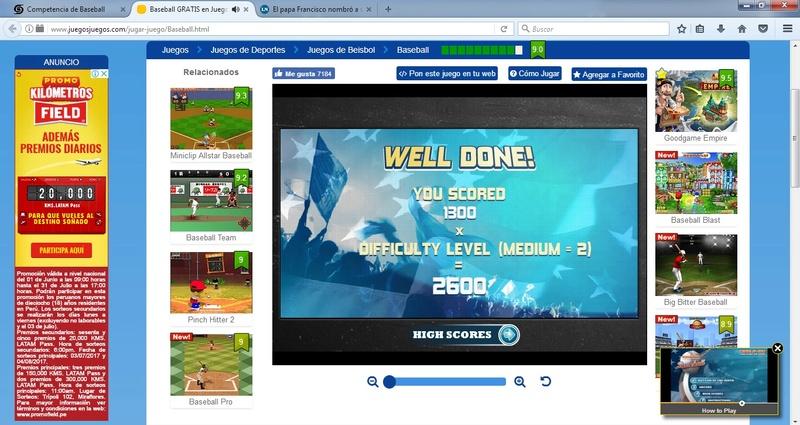 Competencia de Baseball Bow510