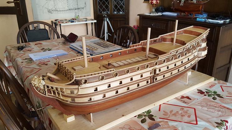 Le HMS Prince 1670 de Constructo au 1/61e de Captain Chris Arriyr16