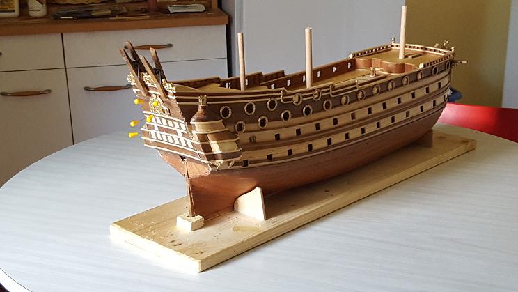 Le HMS Prince 1670 de Constructo au 1/61e de Captain Chris Arriyr18