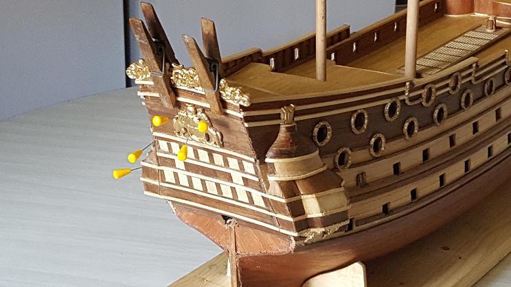 Le HMS Prince 1670 de Constructo au 1/61e de Captain Chris Arriyr19