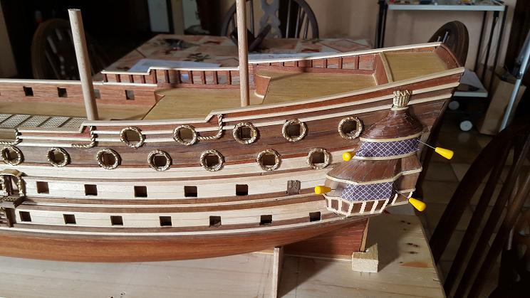 Le HMS Prince 1670 de Constructo au 1/61e de Captain Chris Baies_12