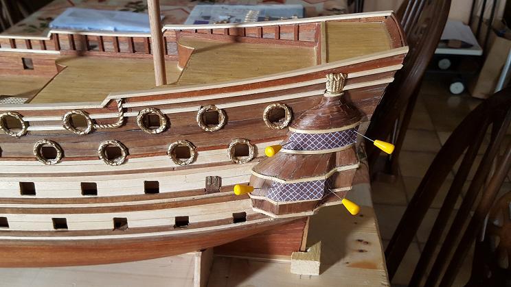 Le HMS Prince 1670 de Constructo au 1/61e de Captain Chris Baies_13
