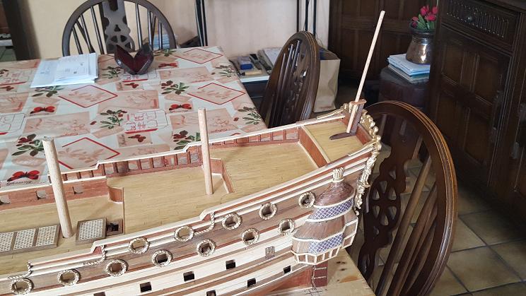 Le HMS Prince 1670 de Constructo au 1/61e de Captain Chris - Page 3 Drapea10