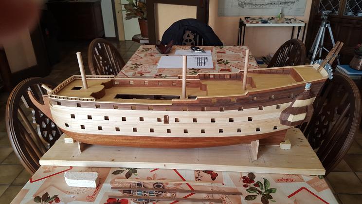 Le HMS Prince 1670 de Constructo au 1/61e de Captain Chris Enfila10