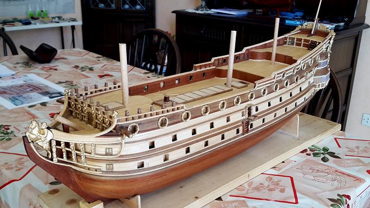 Le HMS Prince 1670 de Constructo au 1/61e de Captain Chris - Page 3 Ensemb10