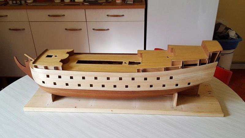 Le HMS Prince 1670 de Constructo au 1/61e de Captain Chris Flanc_10