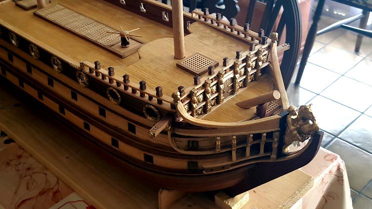 Le HMS Prince 1670 de Constructo au 1/61e de Captain Chris - Page 3 Gailla10