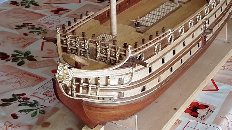 Le HMS Prince 1670 de Constructo au 1/61e de Captain Chris - Page 3 Gailla11