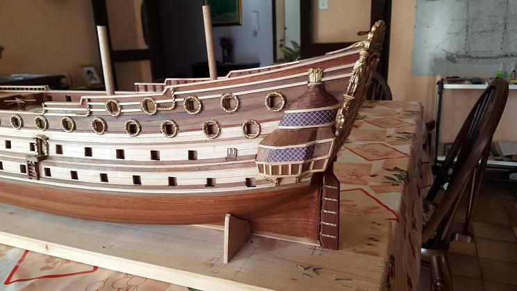 Le HMS Prince 1670 de Constructo au 1/61e de Captain Chris - Page 3 Gonds_11