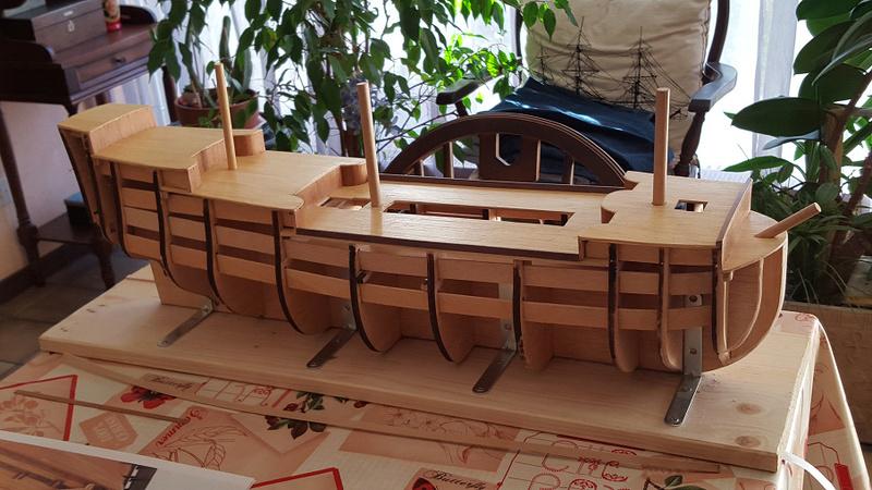 Le HMS Prince 1670 de Constructo au 1/61e de Captain Chris Lattag10