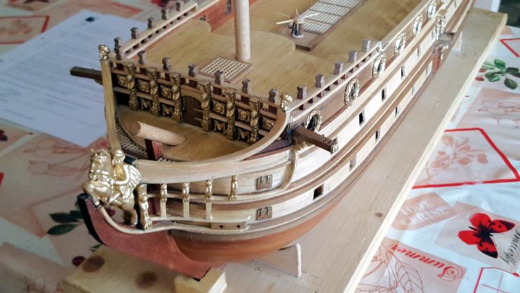 Le HMS Prince 1670 de Constructo au 1/61e de Captain Chris - Page 3 Poupe_16