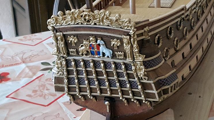 Le HMS Prince 1670 de Constructo au 1/61e de Captain Chris - Page 3 Poupe_17