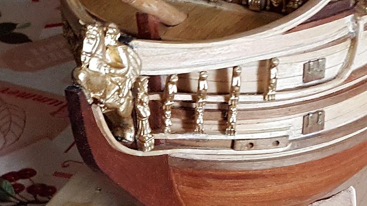 Le HMS Prince 1670 de Constructo au 1/61e de Captain Chris - Page 3 Proue_10