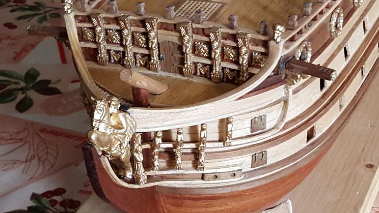 Le HMS Prince 1670 de Constructo au 1/61e de Captain Chris - Page 3 Proue_11