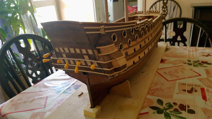 Le HMS Prince 1670 de Constructo au 1/61e de Captain Chris Struct11