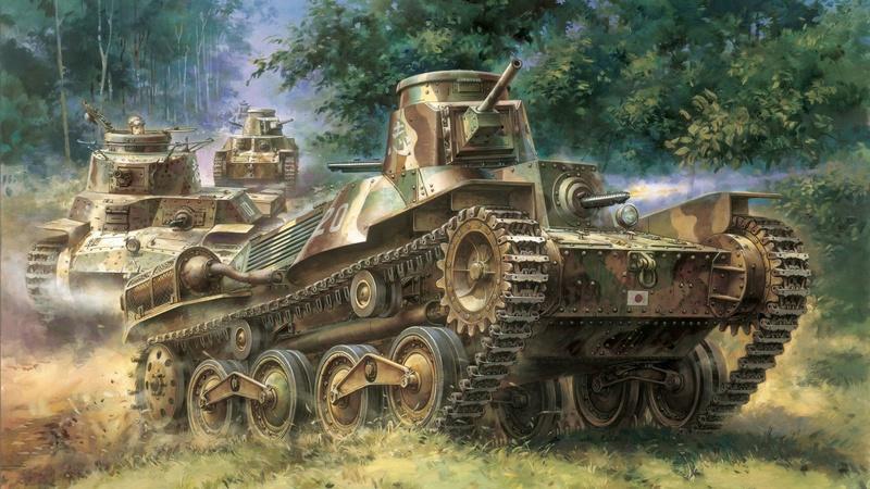World War II Art Wp182210
