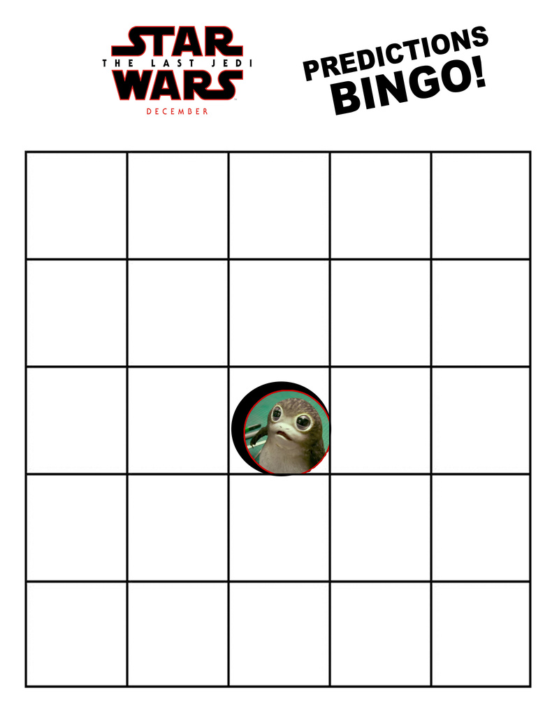 Bingo Card- What Will We have Guessed Right in December? Tlj_bi10