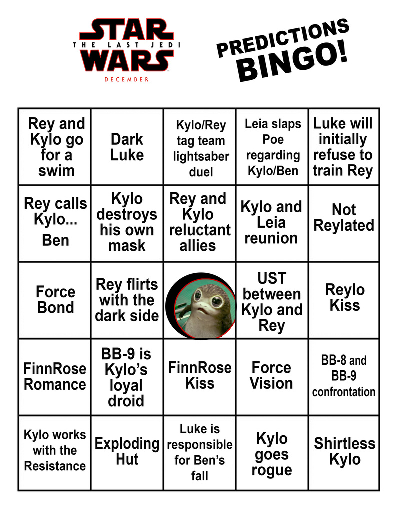 Bingo Card- What Will We have Guessed Right in December? Tlj_bi11