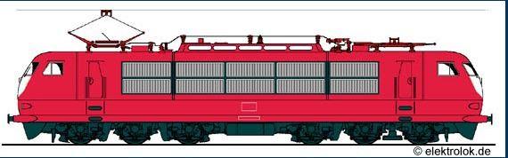 Loco 103 de la DB 103b10