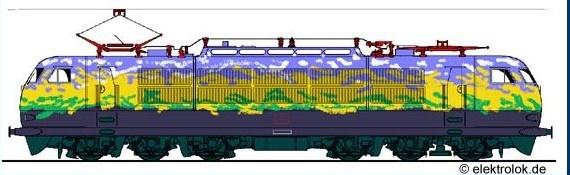Loco 103 de la DB 103d10