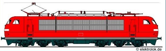 Loco 103 de la DB 103e10