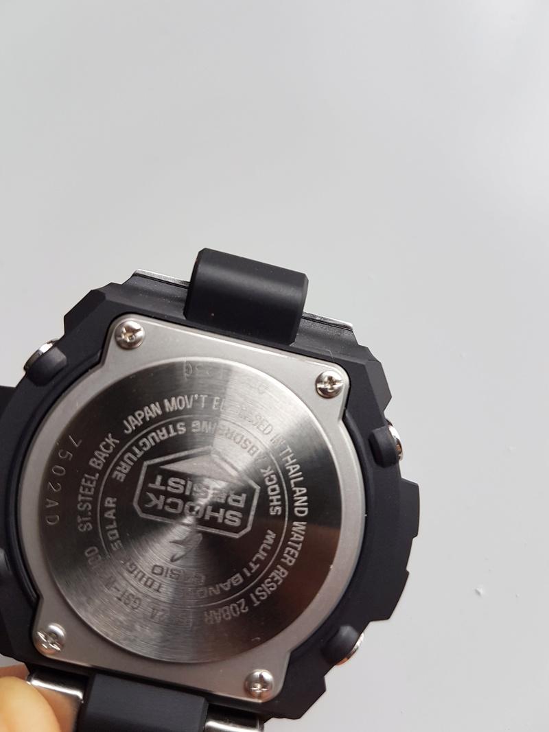 Casio GST-W310D-1AER : la G-Steel plus compacte 20170721