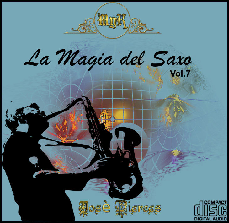 Cd Josè Pierces- La magia del saxo-Vol.7 La_mag10