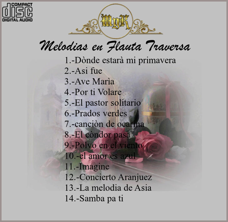 Cd jose Pierces - Melodias en flauta traversa  Vol.1 Melodi11