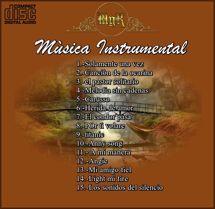 Cd Josè Pierces-Mùsica instrumental Flauta Traversa Vol.3 Musica11