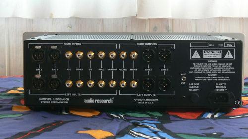 PREVIO AUDIO RESEARCH LS16 MKII + Valvulas nuevas ElectroHarmonix Gold Pin Cryo Audio_11