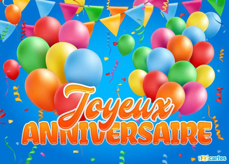 """*** Aujourd'hui , fêtons  """"  l' anniversaire de Gwendalina """"  *** Carte-10"""