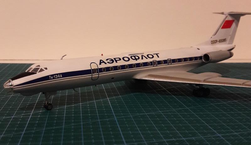 Ту 134а, Звезда 1:144. Tu_13413