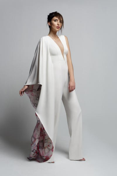 اخر موضه نص فستان و نص بنطلون  W-123110
