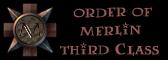 Member of Order of Merlin 3rd