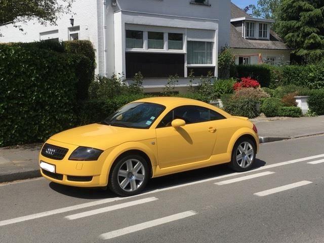 Présentation Audi TT Mk1 Jaune Imola 03122211