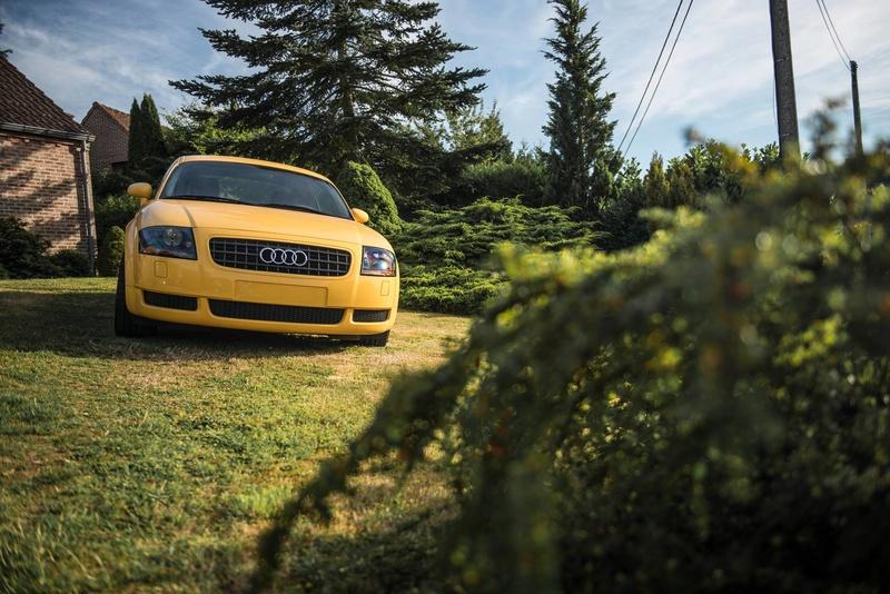 Présentation Audi TT Mk1 Jaune Imola 19956110