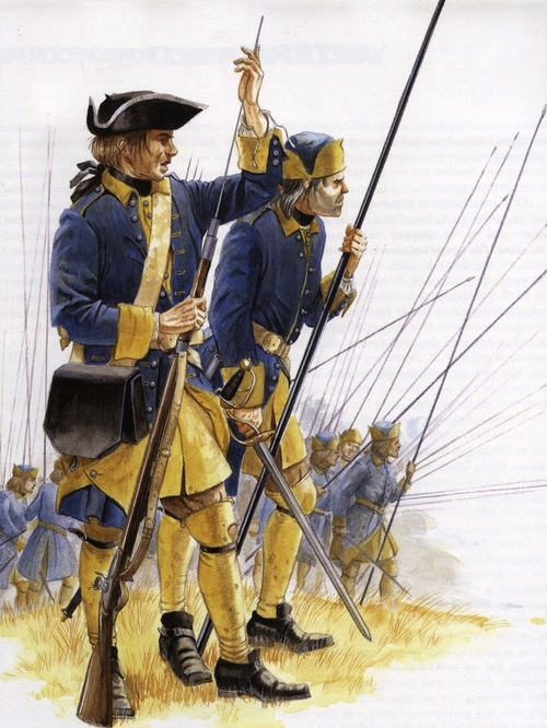 Wich european nation had the best uniforms? (all periods of history) Suecia10
