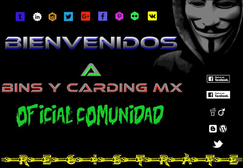 Bins Y Carding MX