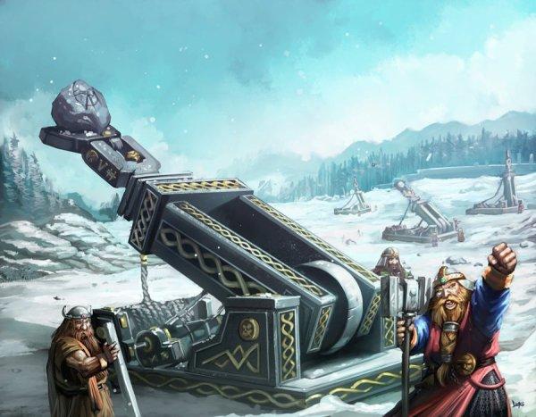 la reprise d'une forteresse naines par grall  30067110